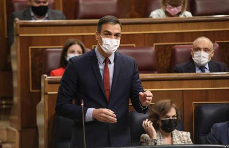 Pedro Sánchez erwägt eine Verkürzung des Alarmzustands.