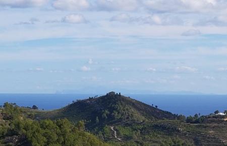 Wunderschöner Anblick. Von Ibiza kann man derzeit bis nach Mallorca schauen.