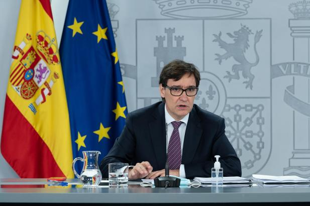Gesundheitsminister Salvador Illa.
