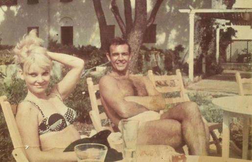 Sean Connery 1964 im Sea Club von Cala Ratjada.