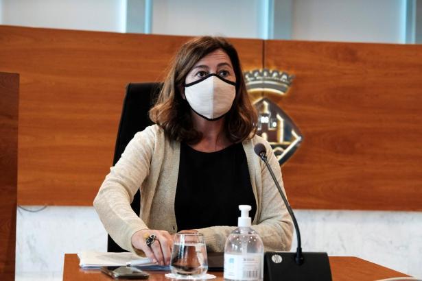 Die balearische Regierungspräsidentin Francina Armengol.