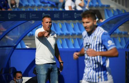Jordi Roger steht seit Saisonbeginn bei Atlético Baleares als Trainer an der Seitenlinie.
