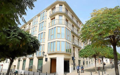 Viele Hotels, die normalerweise bis Ende des Jahres geöffnet haben, wie das Es Princép in Palma, haben jetzt geschlossen.