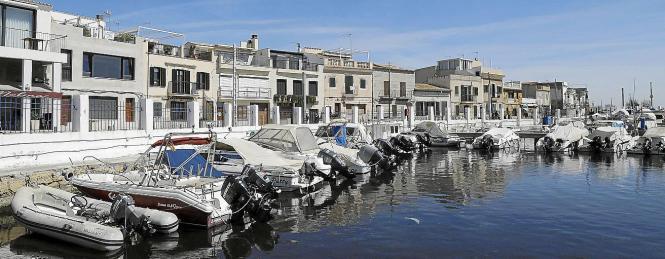 Blick auf das Meeresviertel El Molinar.