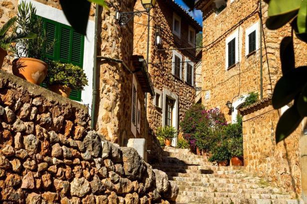 Das Bergdorf Fornalutx wurde mehrfach als schönstes Dorf der Insel ausgezeichnet.
