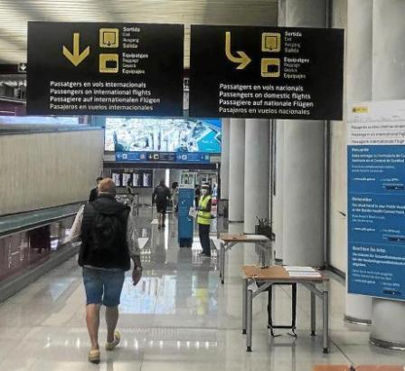 Vom 23. November an müssen Einreisende aus ausländischen Risikogebieten am Airport in Palma ihr Corona-Testergebnis vorzeigen.