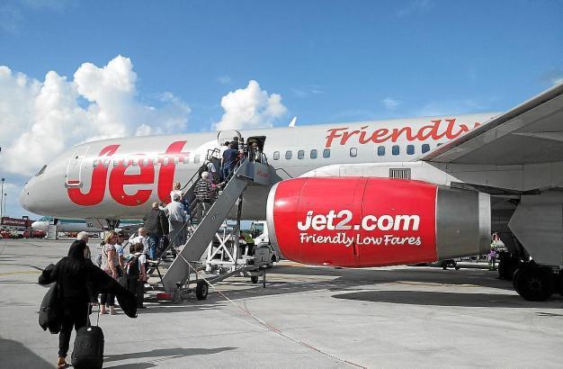 Jet2 ist die viertgrößte Airline des Vereinigten Köngreichs.