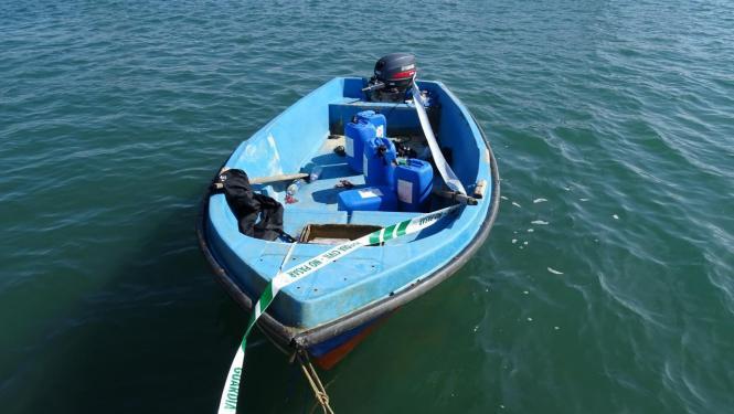 In der Nacht zum Montag wurde ein weiteres kleines Flüchtingsboot entdeckt.