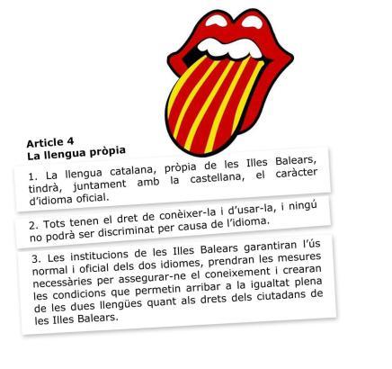 Die Linksregierung will das Katalanische noch mehr stärken.