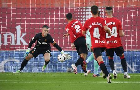 Keeper Manolo Reina war auch gegen Gijón wieder ein starker Rückhalt für sein Team.
