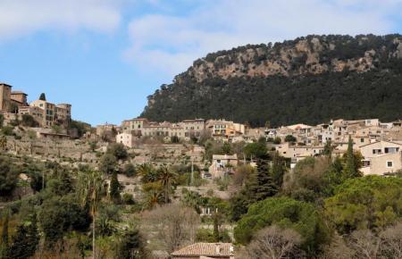 Blick auf Valldemossa.