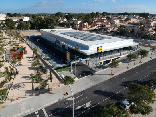 So sieht der neue Supermarkt aus.
