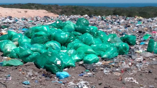 Müllkippe auf den Balearen.