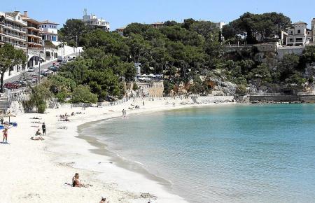 Immer wieder gern besucht: der Strand von Porto Cristo.