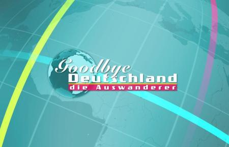 """Das Logo des Formats """"Goodbye Deutschland"""""""