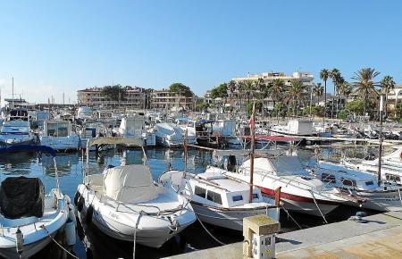 So sieht der Hafen von Colònia de Sant Jordi aus.