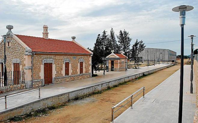 Die Trasse ist vielerorts im Nordosten von Mallorca bereits vor Jahren angelegt worden.