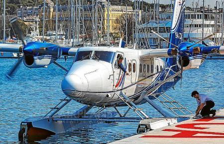 Werden sich Wasserflugzeuge dieser Art bald auch im Hafen von Palma besteigen lassen können?