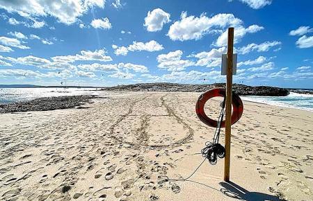 Illetes, der schönste Strand auf Formentera.