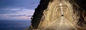 Blick in den Fumat-Tunnel.