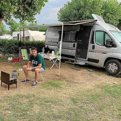 Campingbusse liegen im Trend.