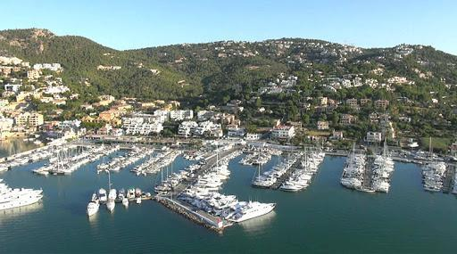 Luftbild von Port d'Andratx.