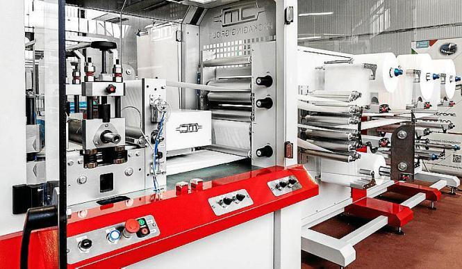 Die Maschinen stammen aus Italien und werden in den kommenden Tagen aufgebaut.