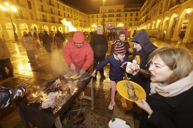 Die Grills bleiben zu Sant Sebastià diesmal aus.