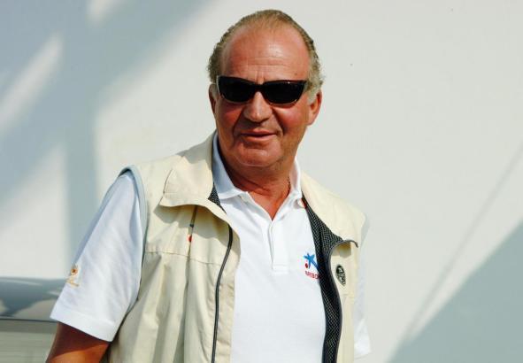 Altkönig Juan Carlos auf Mallorca.