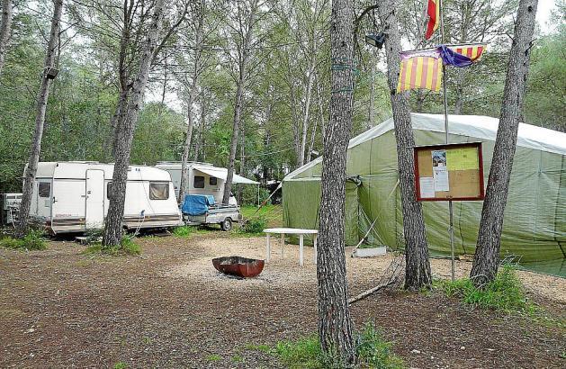 Camper auf Mallorca.