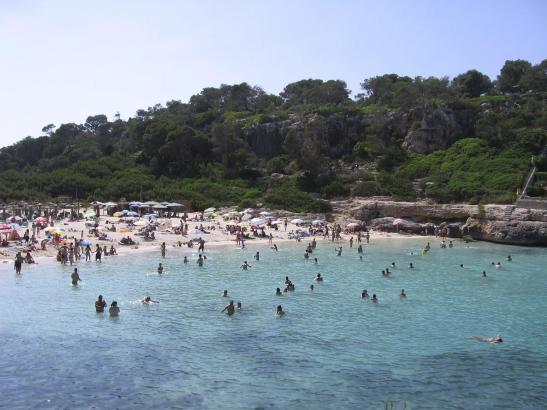 SANTANYI. PLAYAS. Playa de Cala Llombards