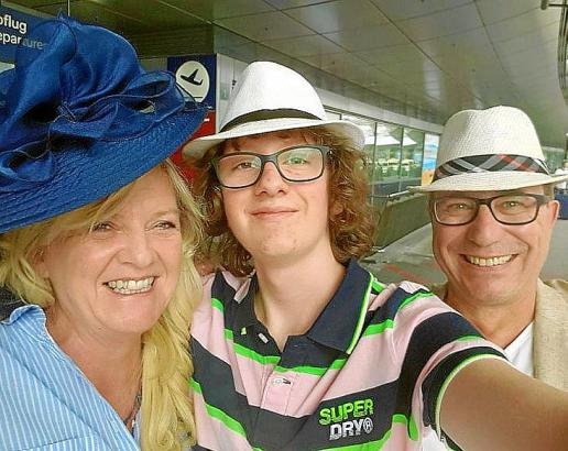 Familie Wienströer freut sich über die bessere Schulförderung für Sohn Jonas.