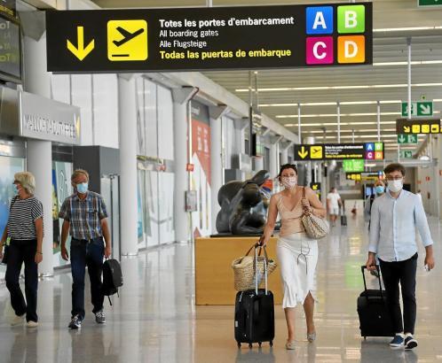 Der Flughafen Son Sant Joan in Palma de Mallorca.