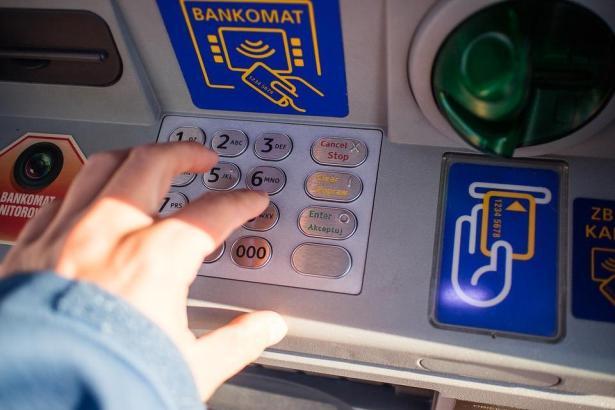 Geldautomat in Palma de Mallorca.