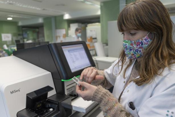 Das Krankenhaus Son Espases untersuchte hunderte Testergebnisse.