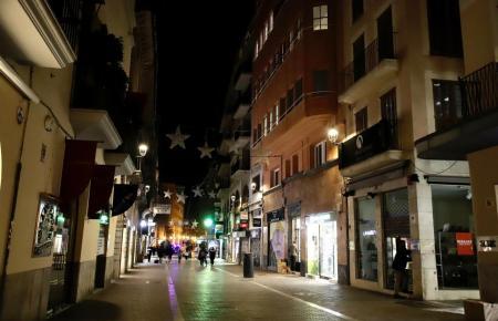 Die Fußgängerzone Sant Miquel in Palma.