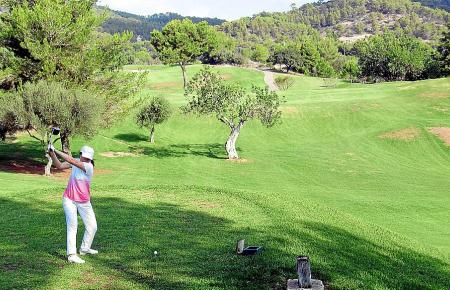 Auf dem Golfplatz von Andratx trifft man viele Zweitwohnsitzler.