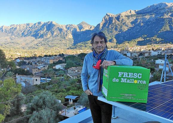 Der deutsche Unternehmer Franz Kraus betreibt seit Jahren die mallorquinische Delikatessenfirma Fet a Sóller.