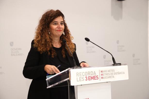 Regierungssprecherin Pilar Costa.