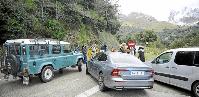 Das Tramuntana-Gebirge war am ersten Wochenende des Jahres gut besucht.
