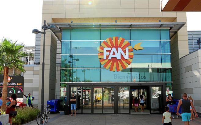 Das Einkaufszentrum FAN muss an den Wochenenden schließen.