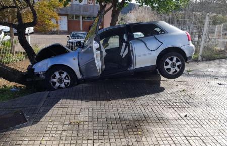 Bei dem Unfall entstand glücklicherweise nur Sachschaden.
