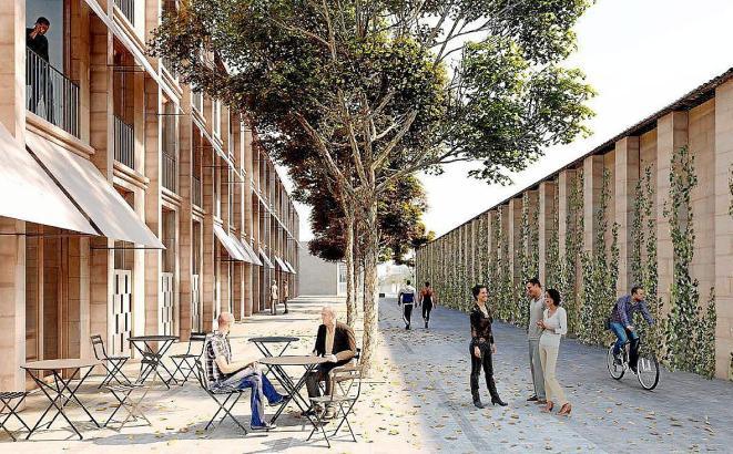 So sollen die Wohnungen im Viertel La Soledat aussehen.