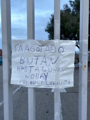 An vielen Ort auf Mallorca gibt es derzeit kein Heizgas.