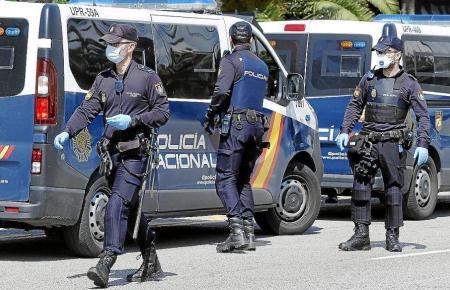 Die Polizei griff durch.