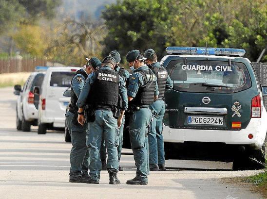 Die Guardia Civil nahm die Ermittlungen auf.