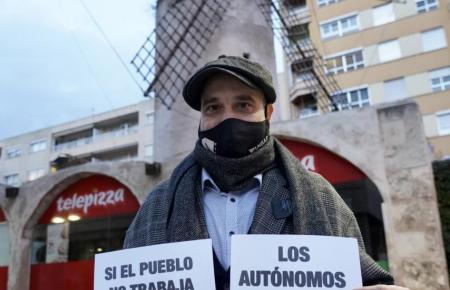 Victor Sánchez hatte die Demonstration organisiert.