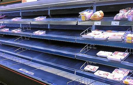Halbleere Regale wurden vielerorts in den vergangenen Tagen in Mallorca-Supermärkten gesichtet.