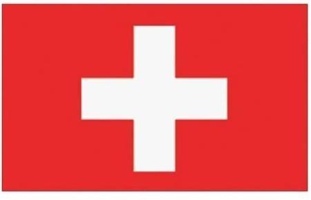 Die Fahne der Schweiz.