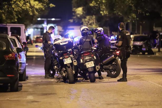 Die Minderjährigen wurden von der Polizei wieder in Heim gebracht.